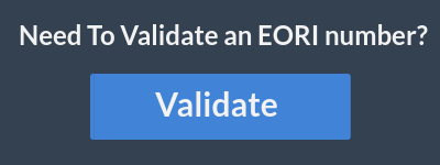 EORI Number validation