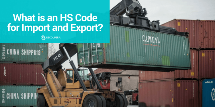 HS codes for import and export